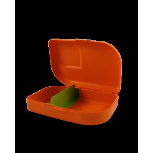 ajaa! Sandwichbox, mandarin, Clipverschluss