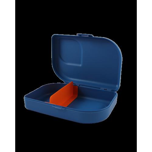 ajaa! Sandwichbox, blue Clipverschluss