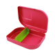 ajaa! Sandwichbox, Farbe pink Clipverschluss