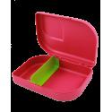 ajaa! Sandwichbox, pink, Clipverschluss
