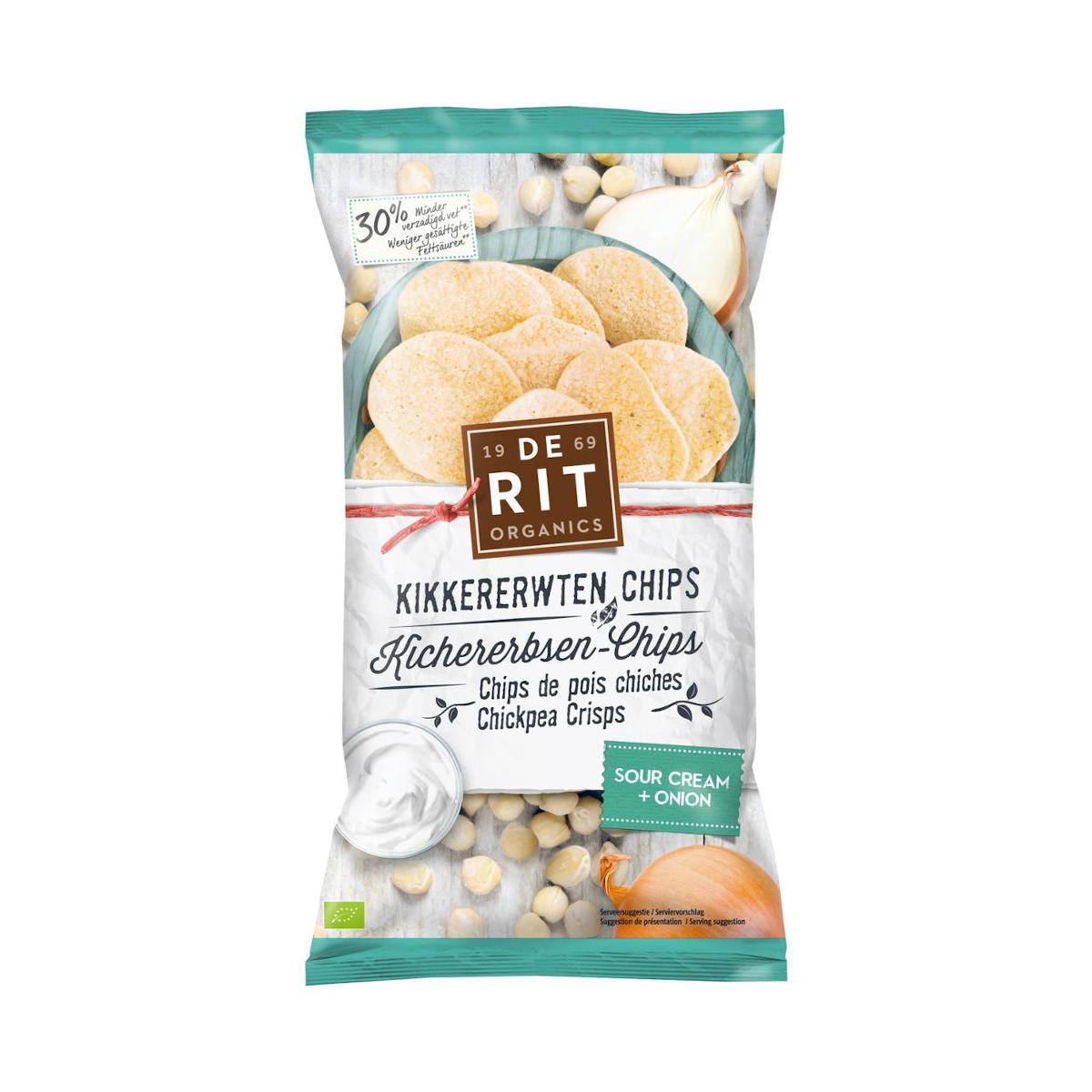 Kichererbsen-Chips Sour Cream Onion