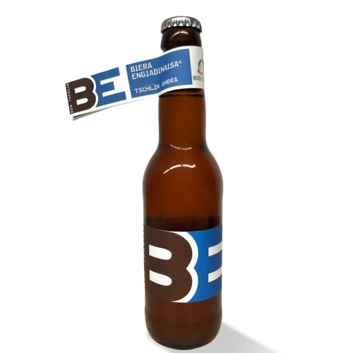 Tschliner Bier ambra, Biera Engiadinaisa