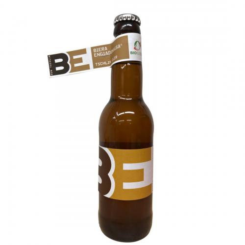 Tschliner Bier cler, Biera Engiadinaisa