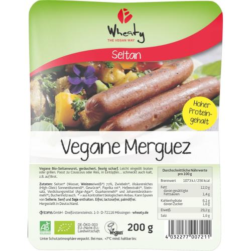 Vegane Merguez