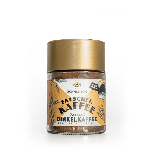 """Dinkelkaffee Instant """"Falscher Kaffee"""""""