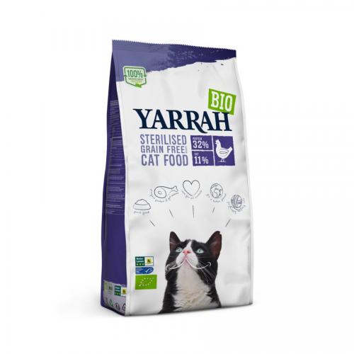 BIO Trockenfutter für sterilisierte Katzen