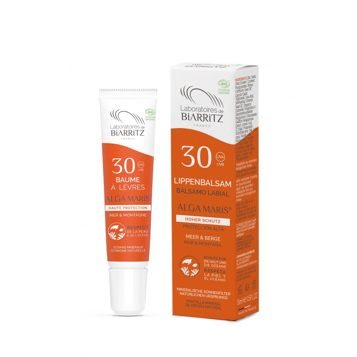 Lippenbalsam LSF30 ohne Parfum
