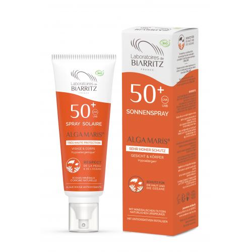 Sonnenspray LSF 50+ ohne Parfum