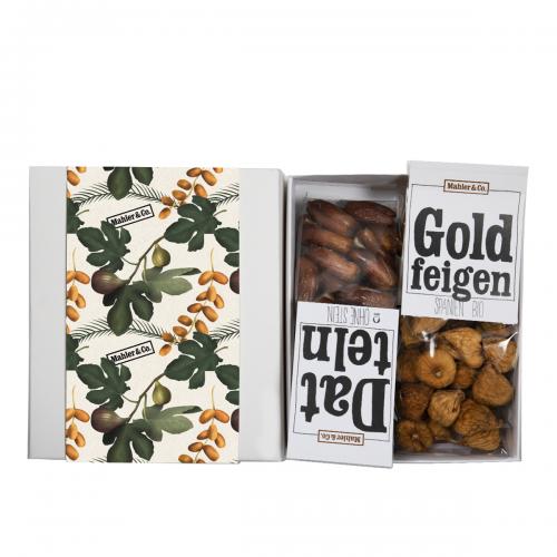Bio-Geschenkset Feigen & Datteln