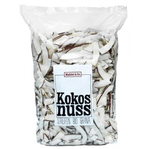 Bio Kokos-Streifen getrocknet Ghana