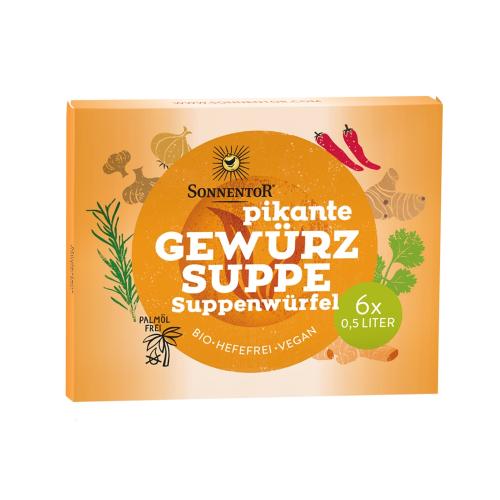 Veganer Suppen-Würfel Vogel-frei