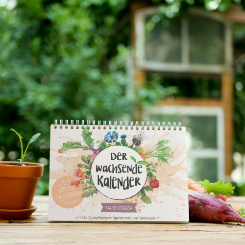 Tausendsassa Kalender mit Saatgut