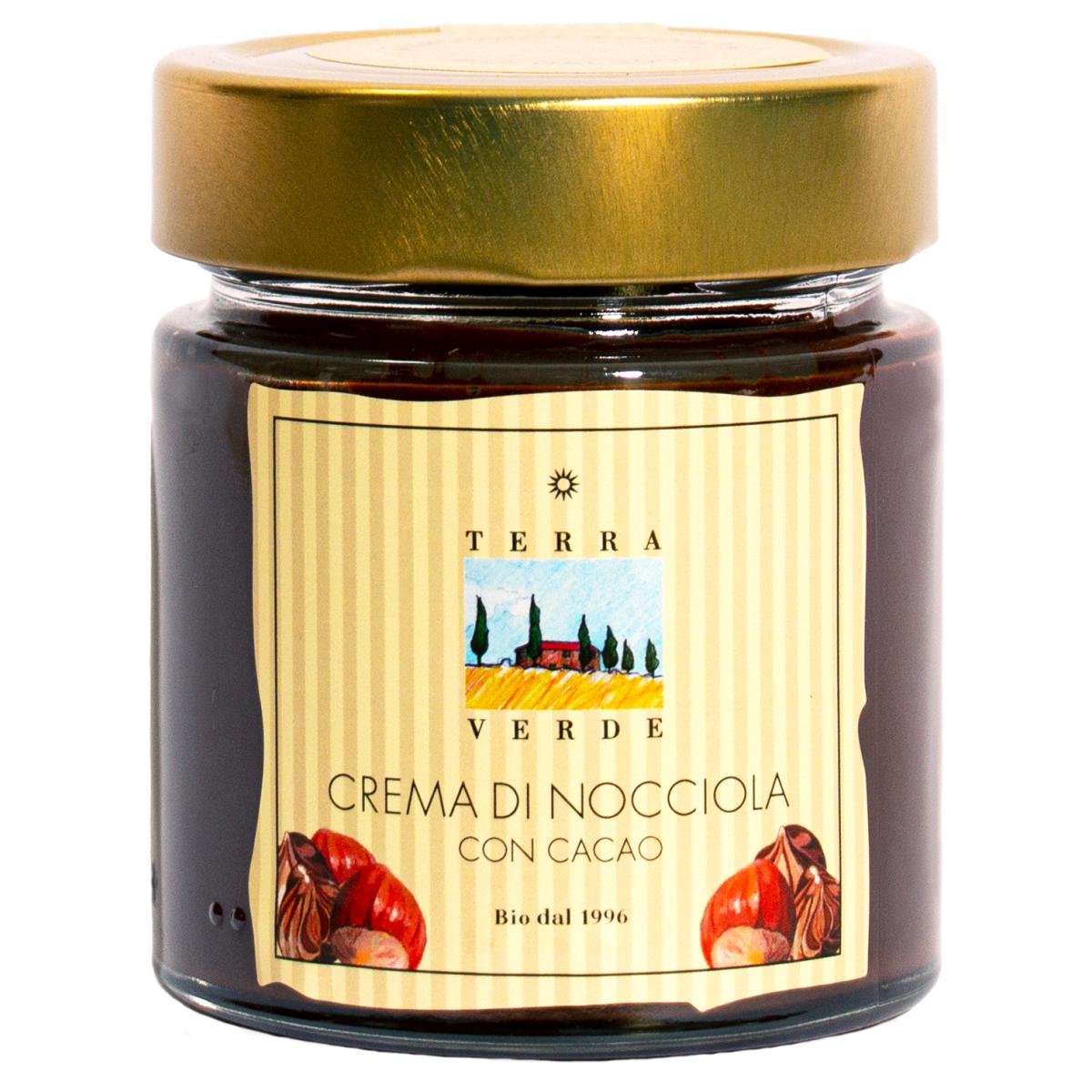Crema di nocciola, Haselnuss-Kakao-Creme