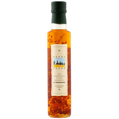 Olio d Oliva extra vergine al Peperoncino