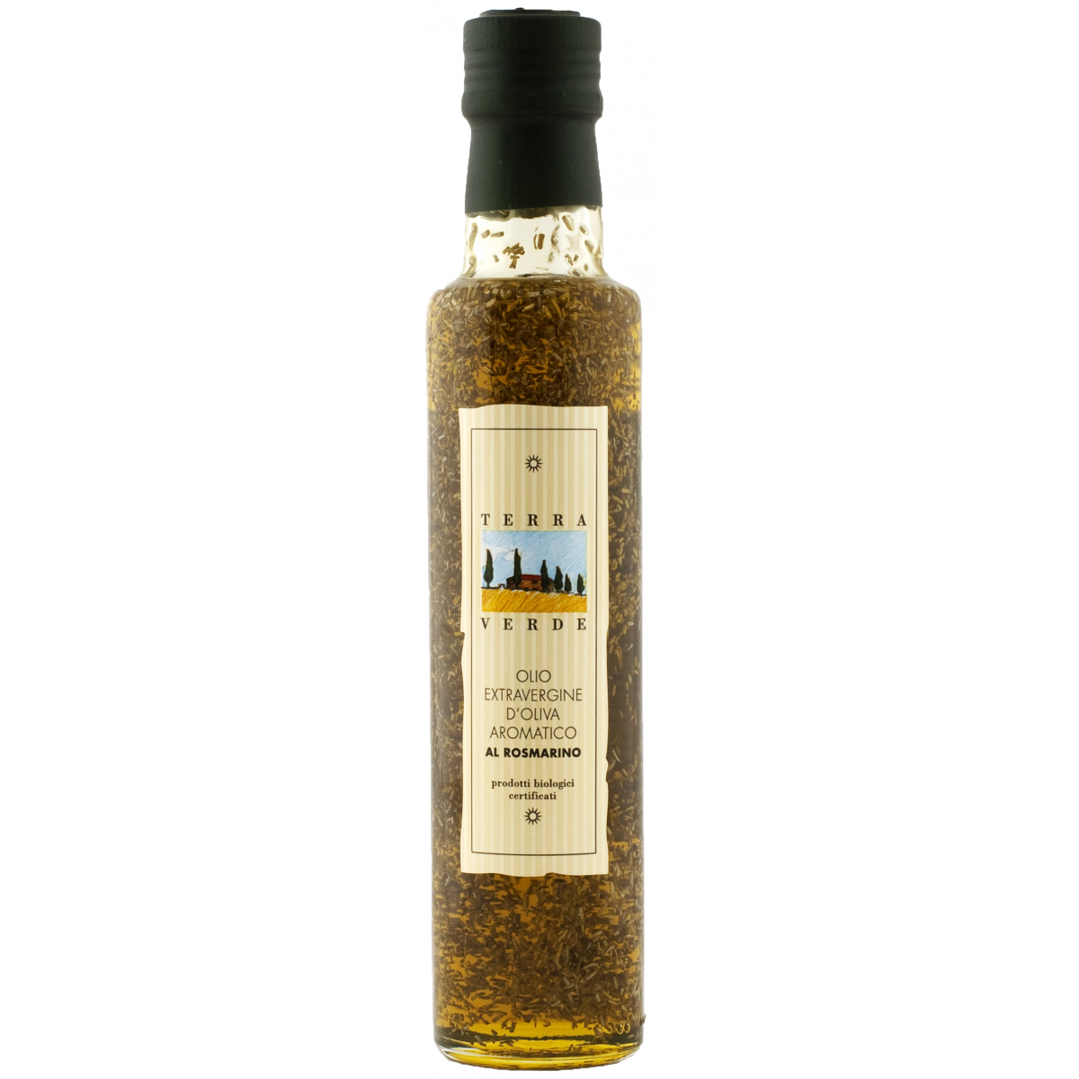 Olio d Oliva extra vergine al Rosmarino