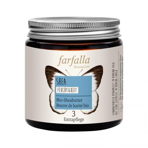 Bio-Sheabutter Tiegel 100 g - Farfalla