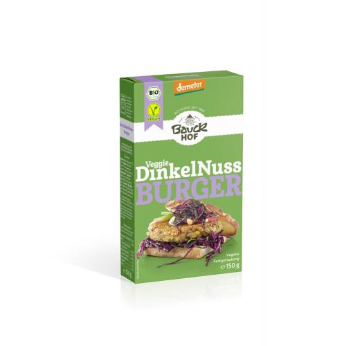 Bio Dinkel-Nuss Burger Bauck