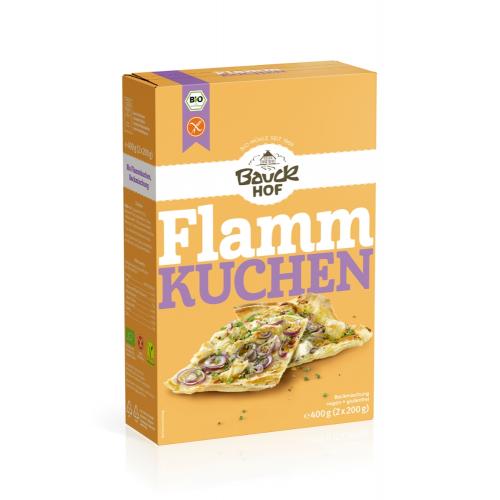 Bio Flammkuchenteig Bauck glutenfrei vegan