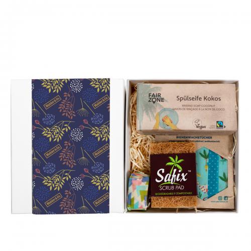 Bio-Geschenkset Starter-Kit: Haushalt für Männer