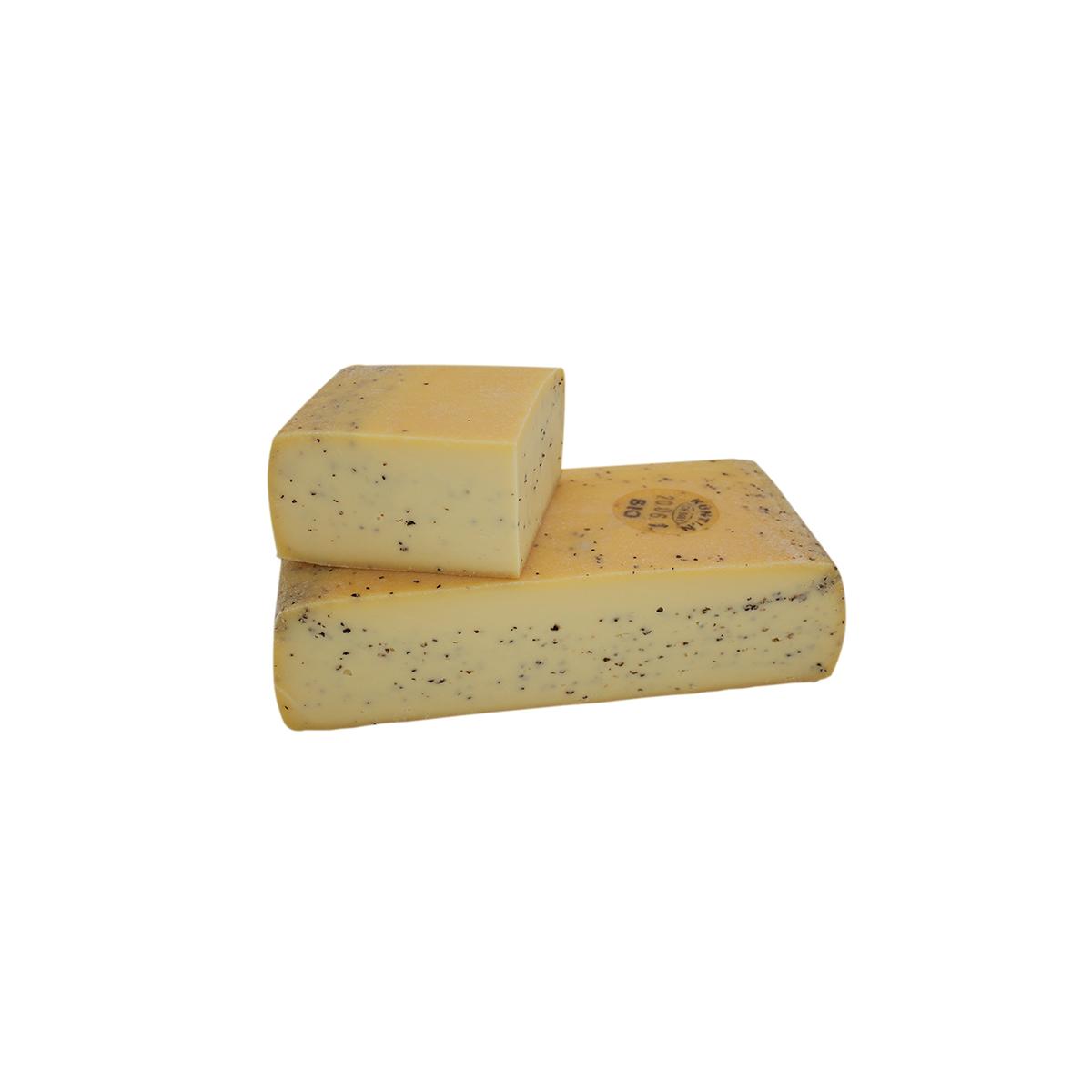 Bio Raclette Pfeffer 1/4 Laib