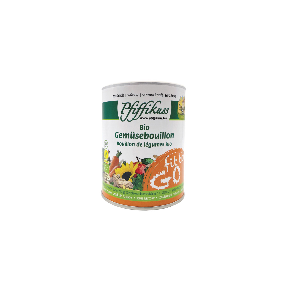 Gemüsebouillon Fit to go Pfiffikuss 125g