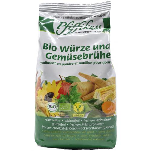 Bio Bouillon und Würze Pfiffikuss 450g