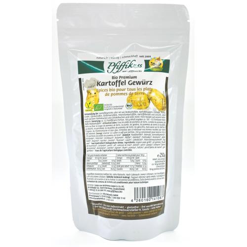 Bio Kartoffelgewürz Pfiffikuss Nachfüllbeutel