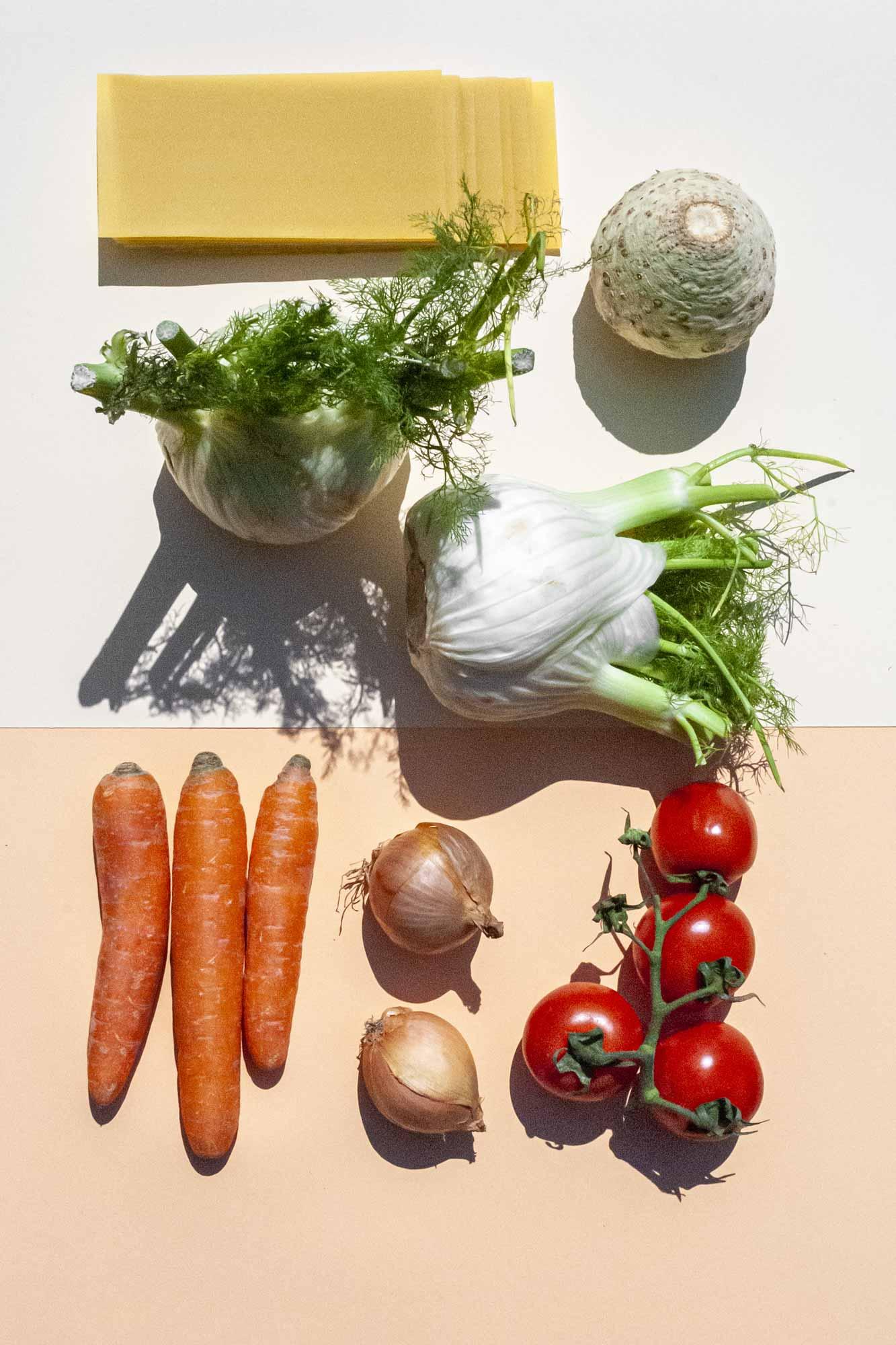 Gemüselasagne