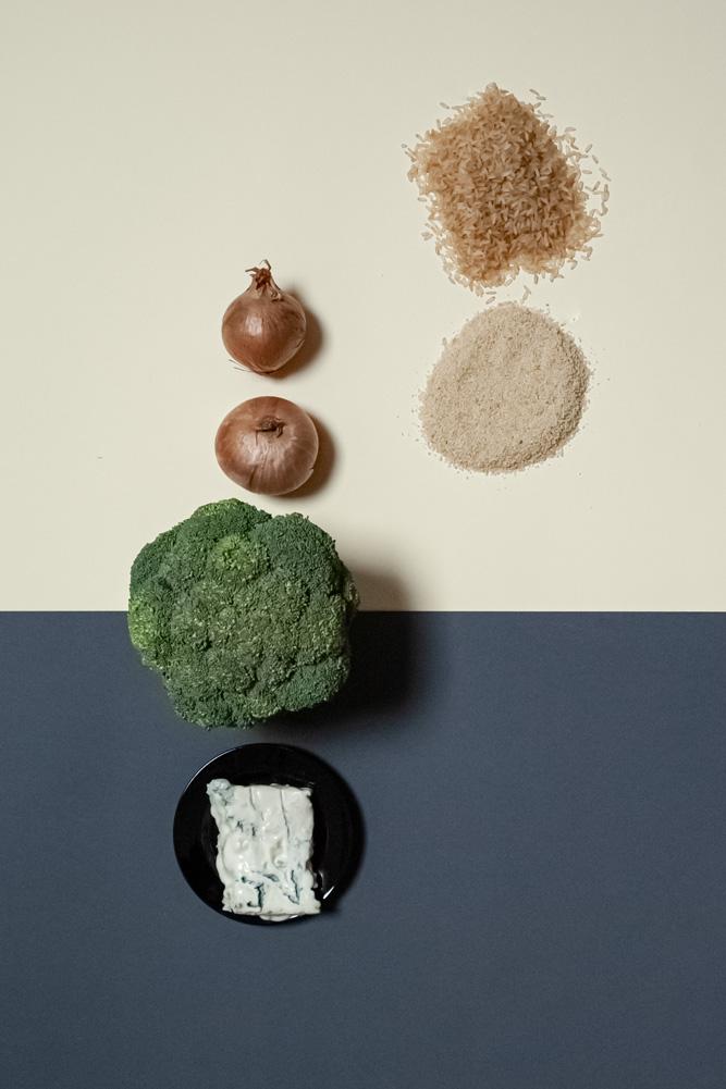 Überbackener Broccoli mit Reis und Radiesli