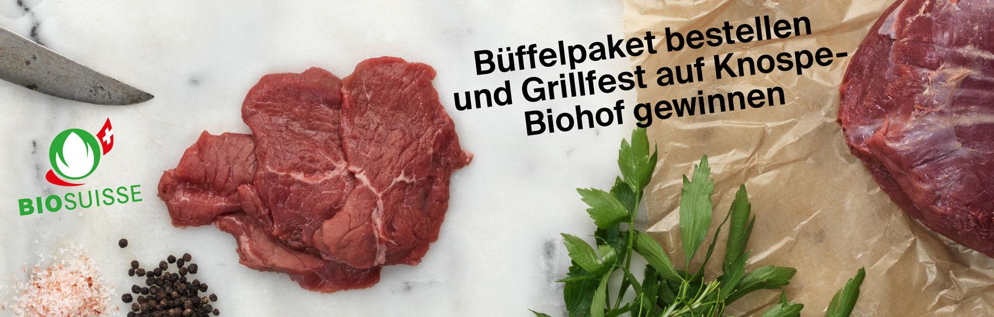 Büffel Promotion